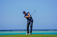 Henrik Stenson (SWE) on the 17th during the Pro-Am of the Saudi International at the Royal Greens Golf and Country Club, King Abdullah Economic City, Saudi Arabia. 29/01/2020<br /> Picture: Golffile | Thos Caffrey<br /> <br /> <br /> All photo usage must carry mandatory copyright credit (© Golffile | Thos Caffrey)