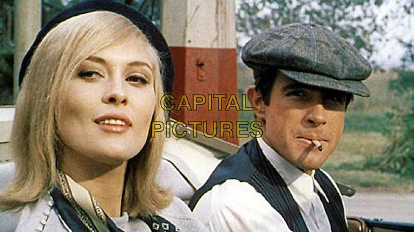 Faye Dunaway, Warren Beatty<br /> in Bonnie and Clyde (1967) <br /> *Filmstill - Editorial Use Only*<br /> CAP/FB<br /> Image supplied by Capital Pictures