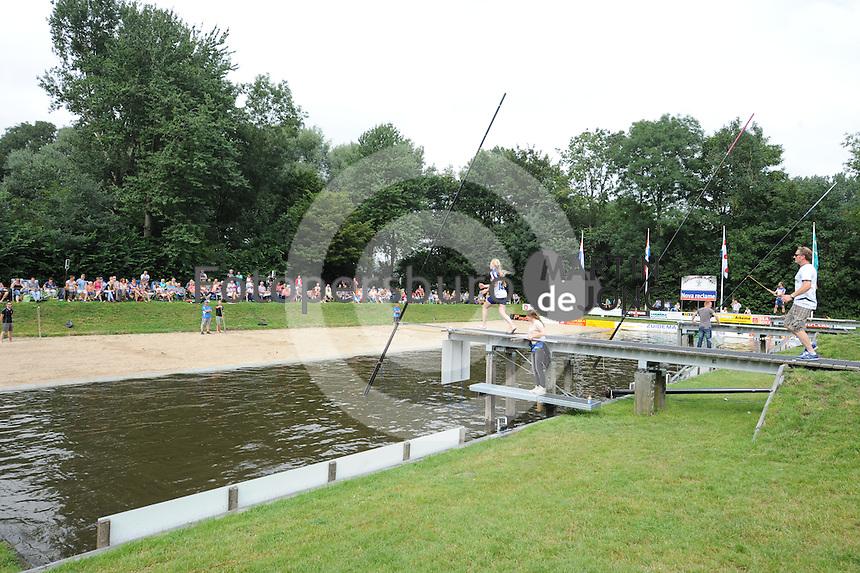 FIERLJEPPEN: GRIJPSKERK: 15-08-2015, ©foto Martin de Jong