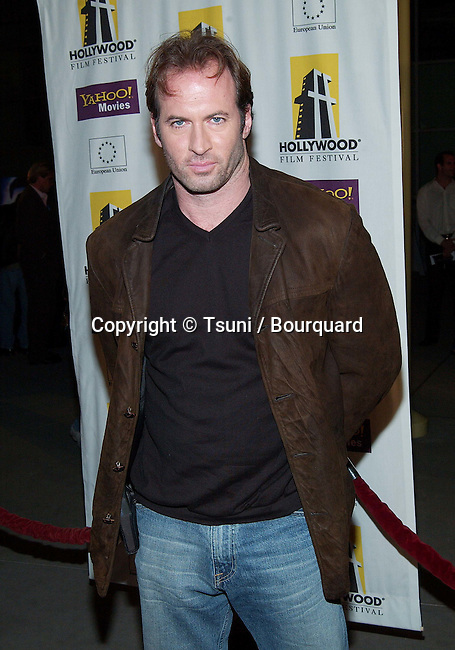 Scott Peterson arriving at the Hollywood Film Festival's Opening Night: The Ring premiere at the ArcLight Theatre in Los Angeles. October 2, 2002.          -            PetersonScott34.jpg