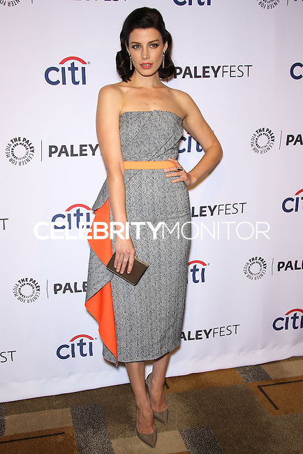 "HOLLYWOOD, LOS ANGELES, CA, USA - MARCH 21: Jessica Pare at the 2014 PaleyFest - ""Mad Men"" held at Dolby Theatre on March 21, 2014 in Hollywood, Los Angeles, California, United States. (Photo by Celebrity Monitor)"