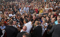 Barack Obama visit. Photo/Andrew Shurtleff
