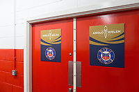 A general view of the home changing rooms. Anglo-Welsh Cup Final, between Bath Rugby and Exeter Chiefs on March 30, 2018 at Kingsholm Stadium in Gloucester, England. Photo by: Patrick Khachfe / Onside Images