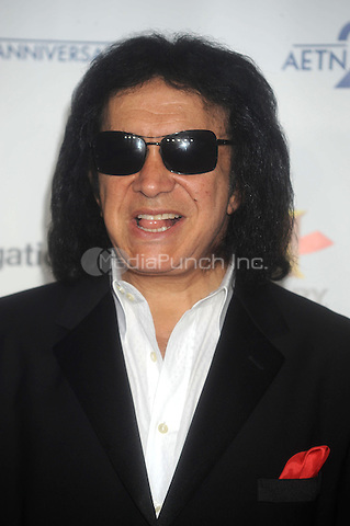 Gene Simmons at the 2009 A&E New York Upfront at The Rainbow Room in New York City. May 14, 2009. Credit: Dennis Van Tine/MediaPunch