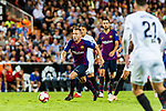 Arthur Melo of FC Barcelona in action during their La Liga 2018-19 match between Valencia CF and FC Barcelona at Estadio de Mestalla on October 07 2018 in Valencia, Spain. Photo by Maria Jose Segovia Carmona / Power Sport Images