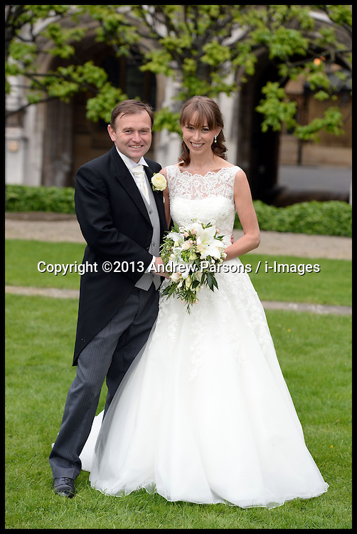 George Eustice MP marries Katy Taylor-Richards at the House of Commons, London,  Saturday, 18th May 2013.Picture by Andrew Parsons / i-Images