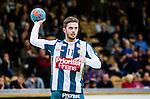Stockholm 2014-03-02 Handboll Elitserien Hammarby IF - Ystads IF :  <br /> Hammarbys Martin Dolk<br /> (Foto: Kenta J&ouml;nsson) Nyckelord:  Ystad Bajen HIF portr&auml;tt portrait