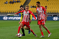Melbourne City&rsquo;s Nathaniel Atkinson in action during the A League - Wellington Phoenix v Melbourne City FC at Westpac Stadium, Wellington, New Zealand on Saturday 26 January 2019. <br /> Photo by Masanori Udagawa. <br /> www.photowellington.photoshelter.com