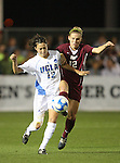 07 December 2007: UCLA's Erin Hardy (l) and USC's Amy Rodriguez (r). The University of Southern California Trojans defeated the University of California Los Angeles Bruins 2-1 at the Aggie Soccer Stadium in College Station, Texas in a NCAA Division I Womens College Cup semifinal game.