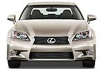 Straight front view of a 2013 Lexus GS 350
