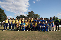 Essex CCC XI and Upminster XI during Upminster CC vs Essex CCC, Benefit Match Cricket at Upminster Park on 8th September 2019