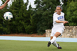 24 August 2012: Duke's Cassie Pecht. The Duke University Blue Devils defeated the University of Montreal Caribins 4-1 at Fetzer Field in Chapel Hill, North Carolina in an international women's collegiate friendly game.