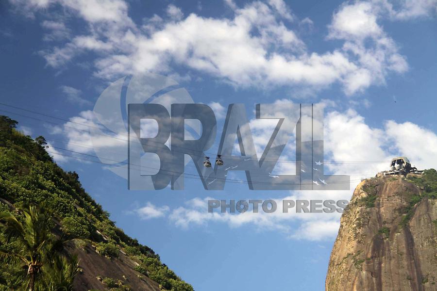 RIO DE  JANEIRO,03 DE  JANEIRO DE 2012- Movientação  na praia Vermelha- URCA-RJ.<br /> Foto: Guto Maia / News Free