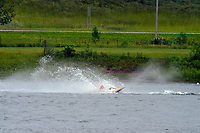 Frame 18: 30-H, 44-S spins out in turn 2   (Outboard Hydroplanes)   (Saturday)