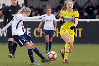Sarah Wiltshire of Tottenham Ladies during Tottenham Hotspur Ladies vs Oxford United Women, FA Women's Super League FA WSL2 Football at Theobalds Lane on 11th February 2018