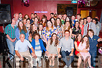 21 kisses<br /> ------------<br /> Alison Shanahan,Abbeydorney (seated centre) had a fantastic night celebrating her 21st birthday in McElligotts bar Abbeydorney last Friday along with family and friends