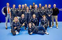 Rotterdam, Netherlands, December 17, 2017, Topsportcentrum, Ned. Loterij NK Tennis,Umpires and liespersons<br /> Photo: Tennisimages/Henk Koster