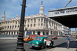 HAVANA, CUBA -- MARCH 23, 2015:  A view of the Gran Teatro de La Habana in Havana, Cuba on March 23, 2015. Photograph by Michael Nagle