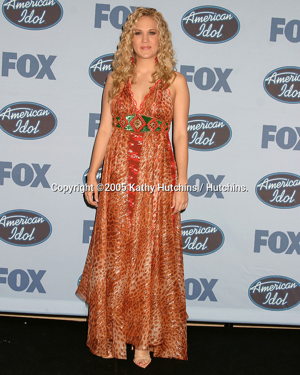 Carrie Underwood.WINNER  -  American Idol.American Idol 4 FInals.Kodak Theater.Hollywood & Highland.Los Angeles, CA .May 25, 2005.©2005 Kathy Hutchins / Hutchins...