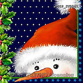Skarlett, NAPKINS, SERVIETTEN, SERVILLETAS, Christmas Santa, Snowman, Weihnachtsmänner, Schneemänner, Papá Noel, muñecos de nieve, paintings+++++,BGSPSV0065,#SV#,#X#
