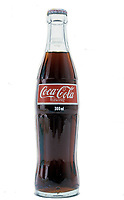 FILE PHOTO -  Coca cola Bottle with metric system volume in the 8O's<br /> <br /> Photo  : Harold Beaulieu- Agence Quebec Presse