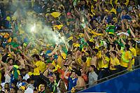 Rio de Janeiro (RJ), 07/07/2019 - Copa América / Final / Brasil x Peru -  Torcida do Brasil comemora durante partida contra o Peru jogo válido pela Final da Copa América no Estádio do Maracanã no Rio de Janeiro neste domingo, 07. (Foto: Gustavo Serebrenick/Brazil Photo Press)