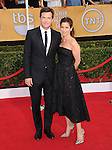 Amanda Anka, Jason Bateman attends The 20th SAG Awards held at The Shrine Auditorium in Los Angeles, California on January 18,2014                                                                               © 2014 Hollywood Press Agency