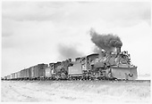 D&amp;RGW #482 and #495 leaving Estrella, CO with mixed-gauge freight.<br /> D&amp;RGW  Estrella, CO  Taken by Griffiths, Henry R., Jr. - 4/27/1950