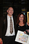"""General Hospital Jacklyn Zeman """"Bobbie Spencer"""" with Steve Kaufman. Jackie is honorary chair of The 29th Annual Jane Elissa Extravaganza which benefits The Jane Elissa Charitable Fund for Leukemia & Lymphoma Cancer, Broadway Cares and other charities on November 14, 2016 at the New York Marriott Hotel, New York City presented by Bridgehampton National Bank and Walgreens.  (Photo by Sue Coflin/Max Photos)"""