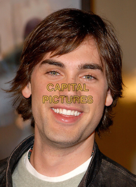 DREW FULLER.The World Premiere of The Perfect Score held at The Cinerama Dome in Hollywood, California .27 January 2004                                                   .*UK Sales Only*.portrait, headshot.www.capitalpictures.com.sales@capitalpictures.com.©Capital Pictures.