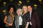 Rhonda Ross - Jamie deRoy - Amy Carlson - Jack Gindi - Hearts of Gold annual All That Glitters Gala - 24 years of support to New York City's homeless mothers and their cildren - (VIP Reception - Silent Auction) was held on November 7, 2018 at Noir et Blanc and the 40/40 Club in New York City, New York.  (Photo by Sue Coflin/Max Photo)