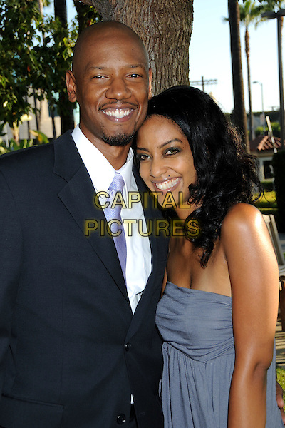 "TORY KITTLES & AZIE TESFAI .Series Premiere Screening of ""Sons of Anarchy"" at Paramount Studios, Hollywood, California, USA, .24 August 2008.half length tie .CAP/ADM/BP.©Byron Purvis/Admedia/Capital PIctures"