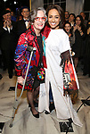 Jennifer Smith and Shina Ann Morris attends Actors' Equity Broadway Opening Night Gypsy Robe Ceremony honoring Shina Ann Morris for  'Anastasia' at the Broadhurst Theatre on April 24, 2017 in New York City.