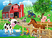 GIORDANO, CUTE ANIMALS, LUSTIGE TIERE, ANIMALITOS DIVERTIDOS, paintings+++++,USGI2888,#AC#,farm animals ,puzzle