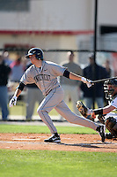 February 20, 2009:  Second baseman Dale Brannon (3) of the University of Connecticut during the Big East-Big Ten Challenge at Jack Russell Stadium in Clearwater, FL.  Photo by:  Mike Janes/Four Seam Images