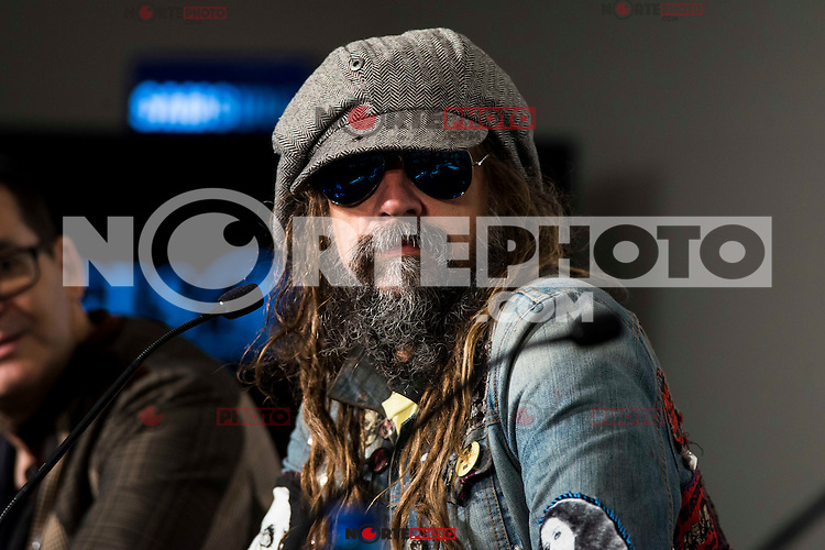 "American director Rob Zombie during the press conference during the presentation of the film ""31"" at Festival de Cine Fantastico de Sitges in Barcelona. October 12, Spain. 2016. (ALTERPHOTOS/BorjaB.Hojas) NORTEPHOTO.COM"