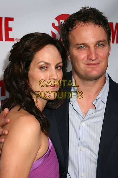 "ANNABETH GISH & JASON CLARKE .Los Angeles Premiere of Showtime's ""Brotherhood"", Westwood, California, USA..June 21st, 2006.Photo: Byron Purvis/AdMedia/Capital Pictures.Ref: BP/ADM.headshot portrait  .www.capitalpictures.com.sales@capitalpictures.com.© Capital Pictures."