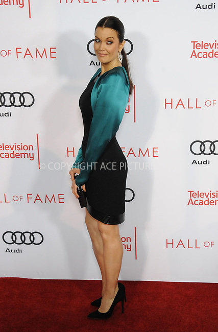 www.acepixs.com<br /> <br /> November 15 2017, LA<br /> <br /> Bellamy Young arriving at the Television Academy's 24th Hall of Fame Ceremony at the Saban Media Center on November 15, 2017 in Los Angeles, California.<br /> <br /> By Line: Peter West/ACE Pictures<br /> <br /> <br /> ACE Pictures Inc<br /> Tel: 6467670430<br /> Email: info@acepixs.com<br /> www.acepixs.com