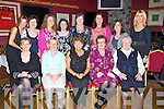 RETIRED: Friends of Mary Lehan of the Bon Secour Hospital held a party for mary in O'Donnell'd Bar & Restaurant, Mounthawk, Tralee on Thursday night t5o mark her retirment from the bon's after 17 years. Front l-r: Geraldine O'Shea, Helen Butley,Mary Lehan(rtd),Monalee, Tralee, Caroline Allen and Sr Teresita. Back l-r: Sharon Spring, Geraldine Conlon, Olga Enright, Hannah Caffrey, Ann Walsh, Tania O'Sullivan Ciara Stack and Nora Teahon...