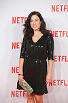 Eva Marciel attends Netflix presentation in Madrid, Spain. October 20, 2015. (ALTERPHOTOS/Victor Blanco)