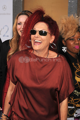 Patricia Field at the film premiere of 'Sex and the City 2' at Radio City Music Hall in New York City. May 24, 2010.Credit: Dennis Van Tine/MediaPunch