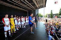 EMMEN - Opendag FC Emmen , Oude Meerdijk, seizoen 2018-2019, 15-07-2018,  FC Emmen trainer Dick Lukkien