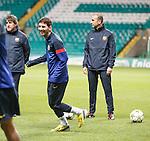 Lionel Messi having a laugh