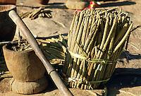 Close up of millet