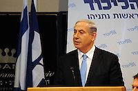 Benjamin Netanyahu at Likud conference