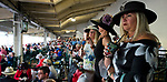 LOUISVILLE, KY - MAY 05: The grand stands on Kentucky Derby Day at Churchill Downs on May 5, 2018 in Louisville, Kentucky. (Photo by Scott Serio/Eclipse Sportswire/Getty Images)