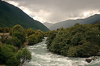"""The Yarlung Tsangpo (Brahmaputra River) is referred to as the """"mother river of Tibet."""" Originating at over 5,000 meters, high in the glaciers of the Himalayas, the Yarlung Tsangpo drains an area of 240,000 square km, with an average elevation of 4,500 meters making it the highest river in the world."""