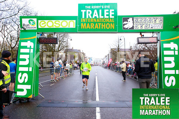 Martin Moriarty 1469, who took part in the Kerry's Eye Tralee International Marathon on Sunday 16th March 2014.