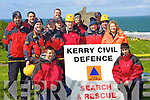 8707-8713.Members of The Kerry Civil Defence Search & Rescue team who took part in The Coastguard Joint Search and Rescue Competition which took place in Ballybunion on Saturday were Ethan Cronin, Tom Brick, Paul McDonnell, Vincent O'Connor, Deirdre McDonnell, Gareth Roche, James McCarthy, Stephen Gormley, Brenda White, Seamus Naughton, Brian Brosnan, Anthony Barry, Karina Daly and Miche?al Brosnan..