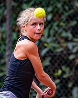 Hilversum, Netherlands, August 8, 2018, National Junior Championships, NJK, Emily Schut (NED)<br /> Photo: Tennisimages/Henk Koster